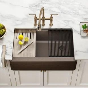 black farmhouse apron kitchen sinks