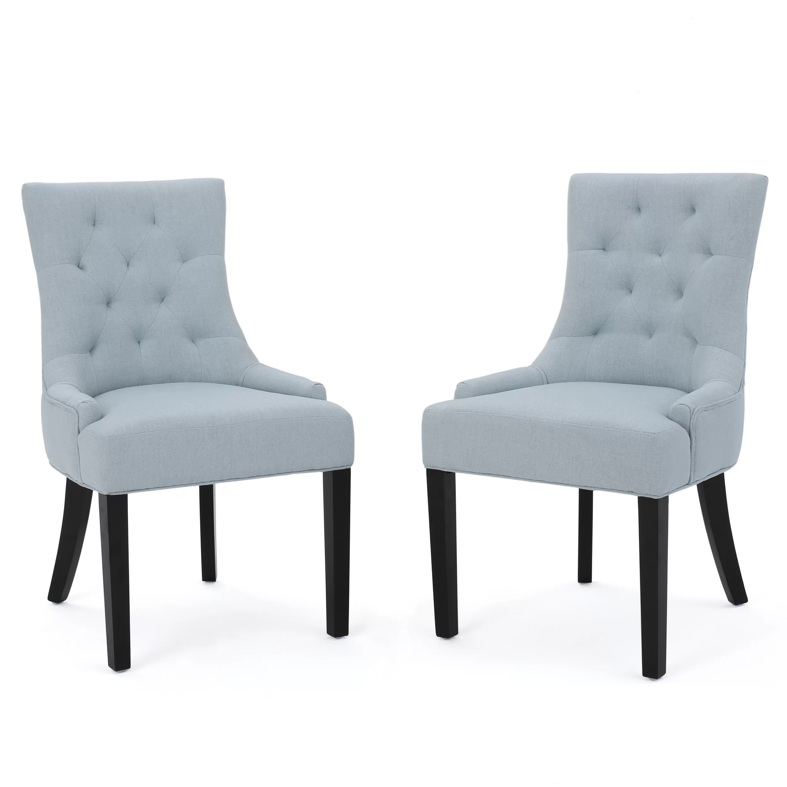 Dining Chair Set Of 2 Grandview Upholstered Dining Chairs Set Of 2