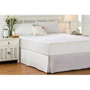 wayfair basics 14 bed skirt