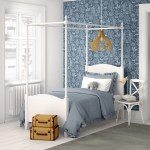 Harriet Bee Woodcote Single Four Poster Bed Reviews Wayfair Co Uk