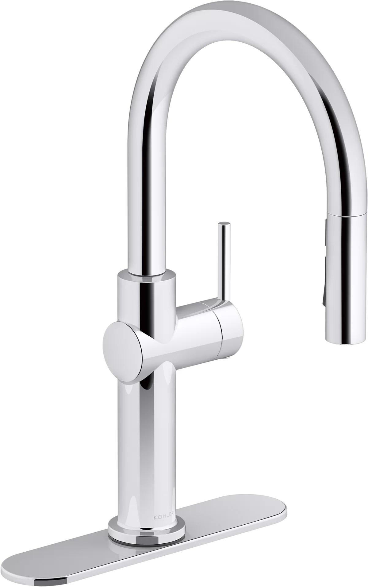 crue single handle kitchen faucet