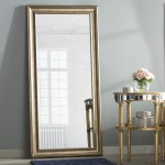 Three Posts Jaylee Modern And Contemporary Beveled Full Length Mirror Reviews Wayfair