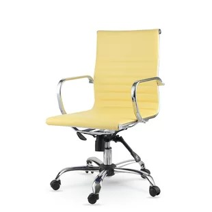 yellow office chair compact high mustard wayfair quickview