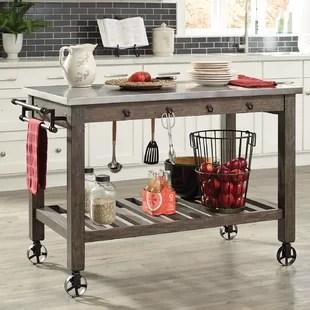 kitchen prep table design a layout restaurant wayfair