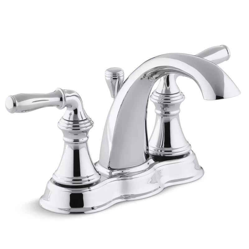 devonshire centerset bathroom sink faucet with drain assembly