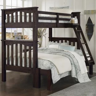 Bedlington Twin Over Full Bunk Bed by Greyleigh for Bedroom at Special Price