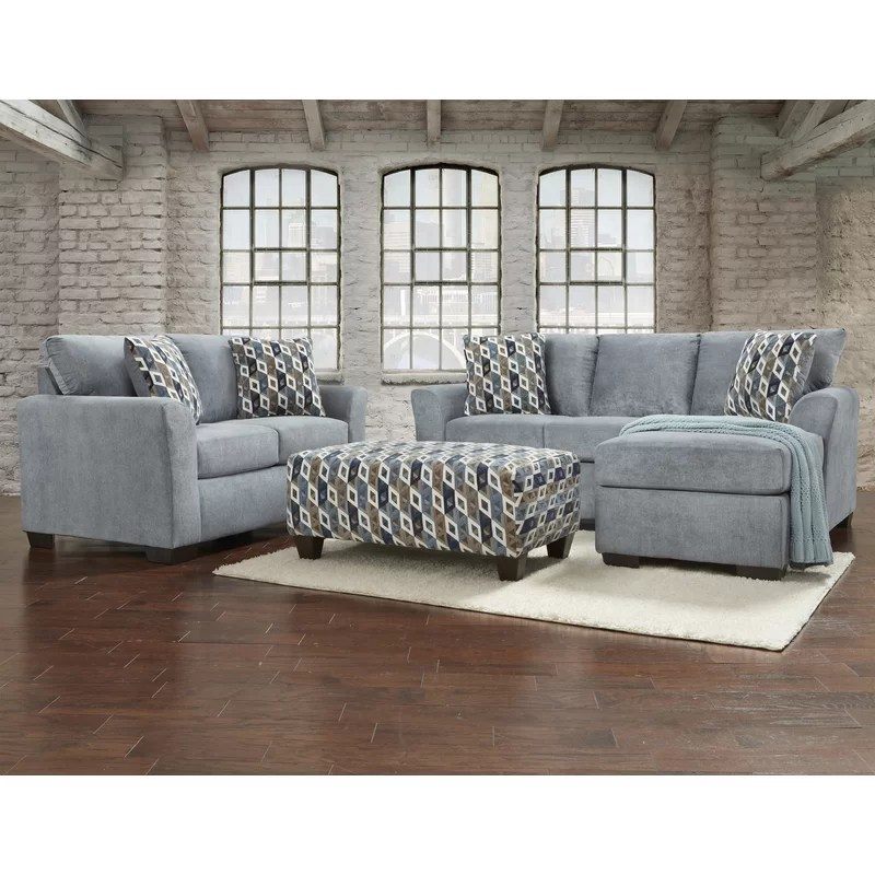 Red Barrel Studio Paes 3 Piece Living Room Set Reviews Wayfair