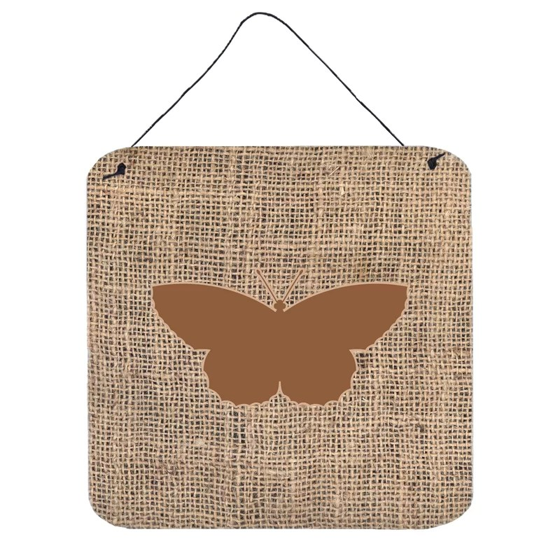 Butterfly by Denny Knight Graphic Art Plaque in Brown