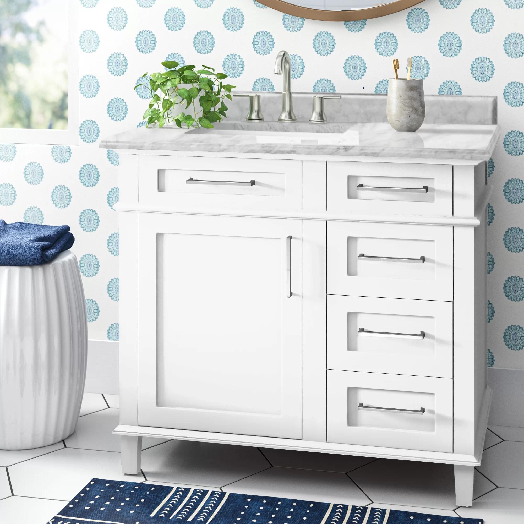 Newport 36 Single Bathroom Vanity Reviews Joss Main