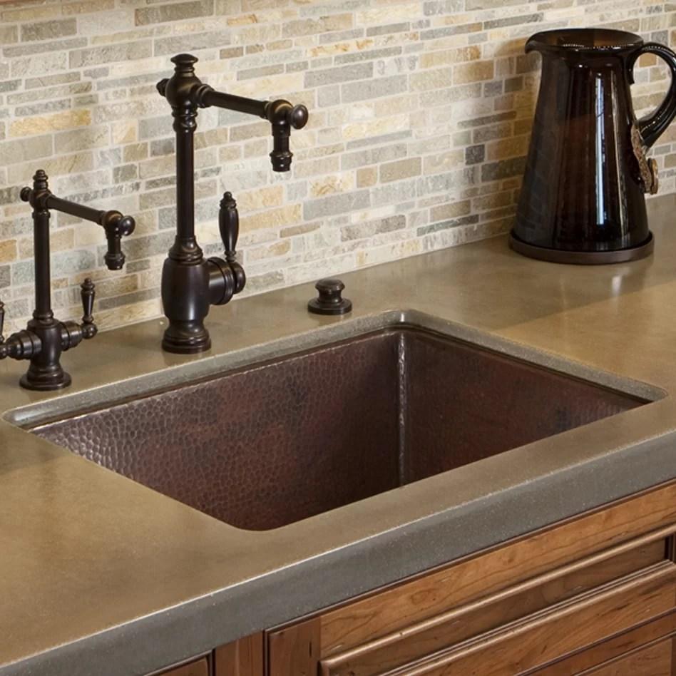 compact kitchen sink ellas baby food native trails cocina 24 l x 18 w undermount wayfair cpk279
