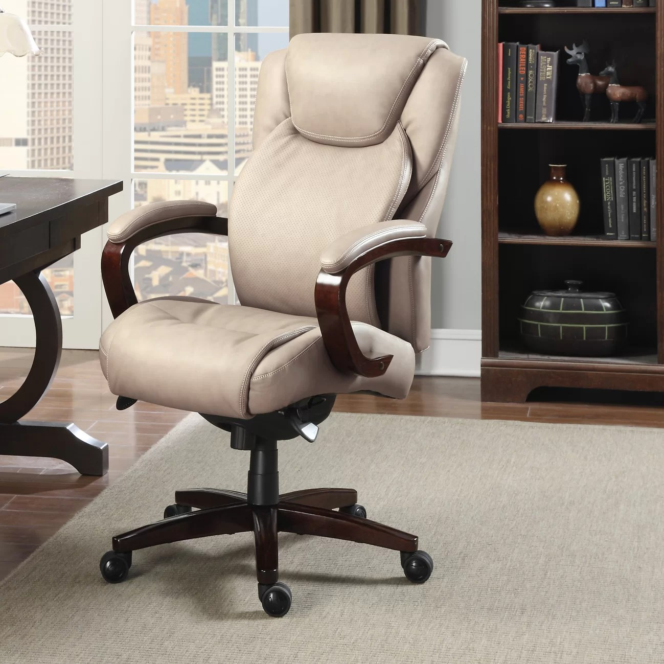 La Z Boy Office Chairs La Z Boy Linden Executive Chair And Reviews Wayfair