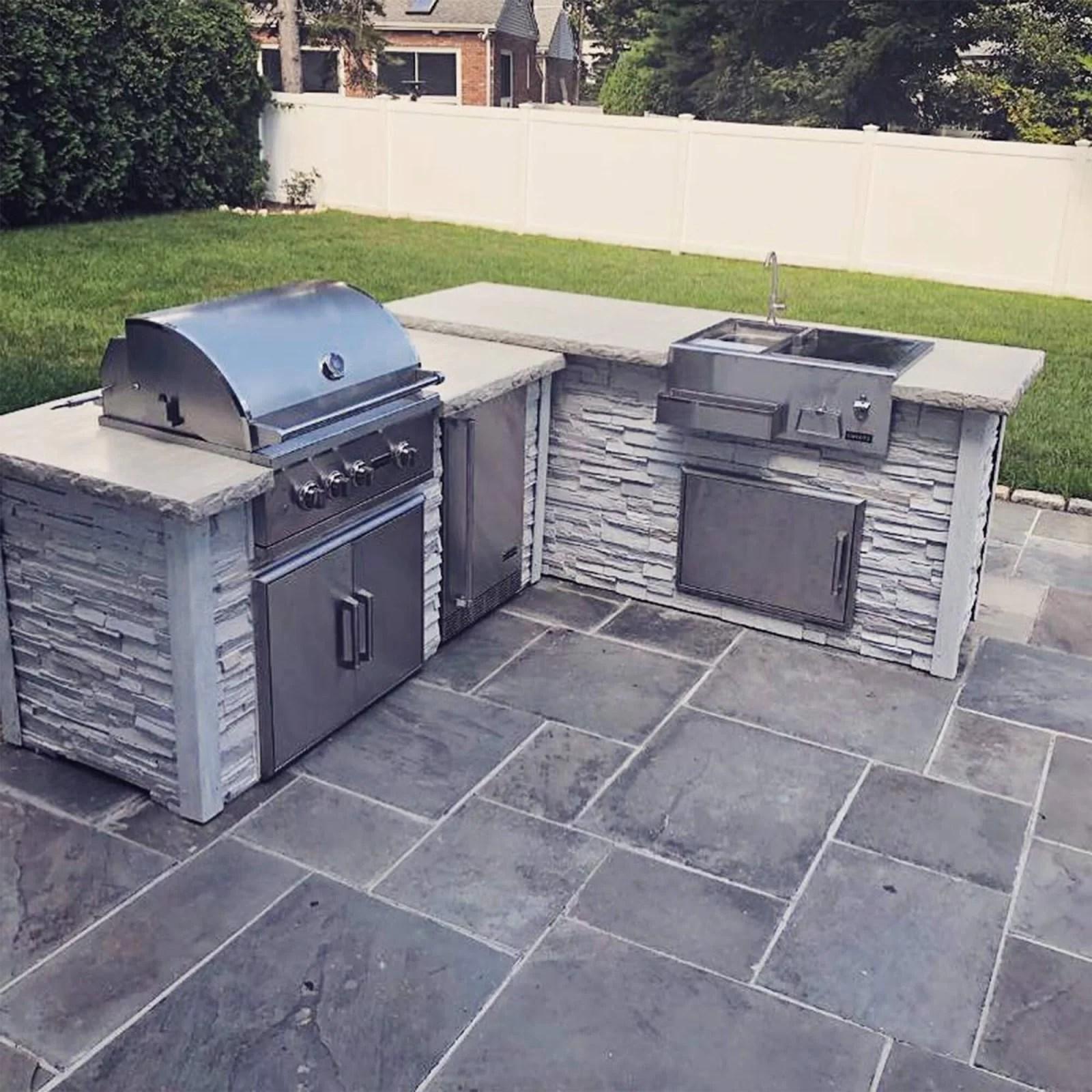 rta outdoor living 96 5 piece 4 burner