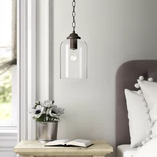 alexa 1 light single bell pendant