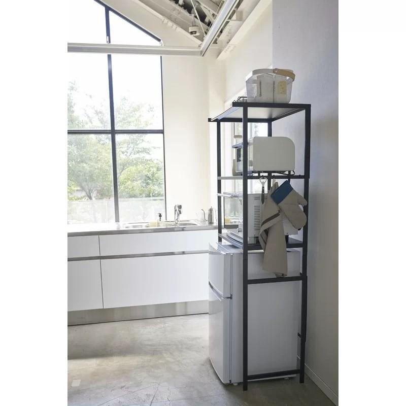 tower 66 9 h x 23 6 w x 18 3 d kitchen appliance storage rack