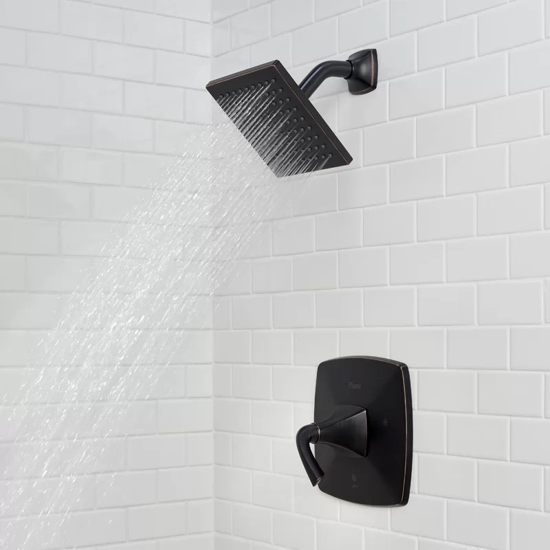 bronson dual function shower faucet with trim