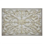Kitchen Backsplash Premium Bronze Metal Resin Mural Medallion Hand Made Textured Tile Building Supplies Building Materials