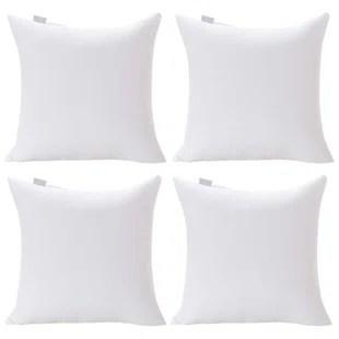 pillow insert set of 4