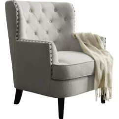 Accent Chair With Arms Headrest Chairs Joss Main Quickview