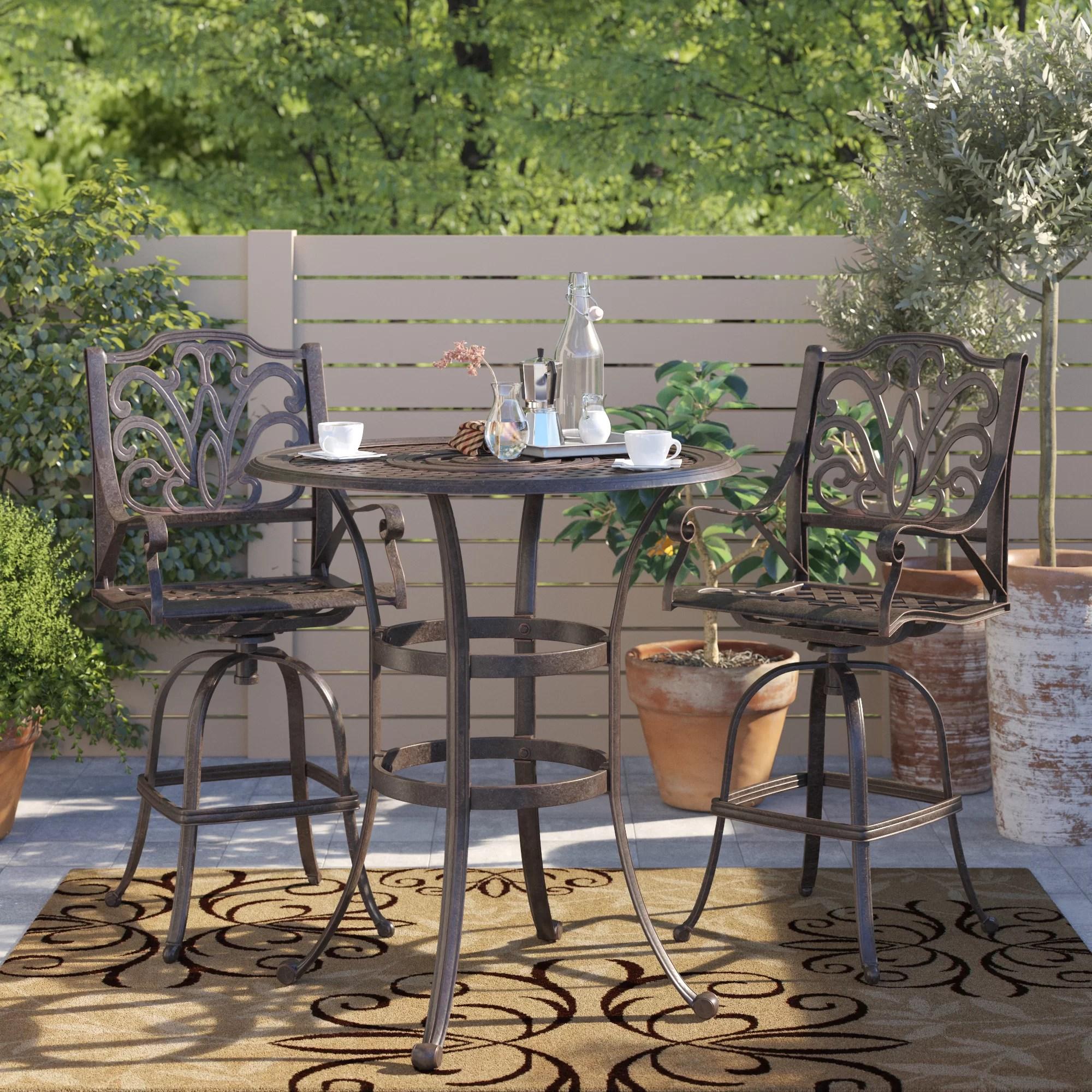 high top patio set with umbrella online