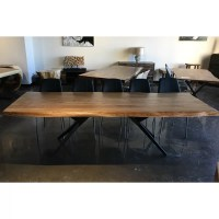 Corcoran Import Live Edge Solid Wood Dining Table