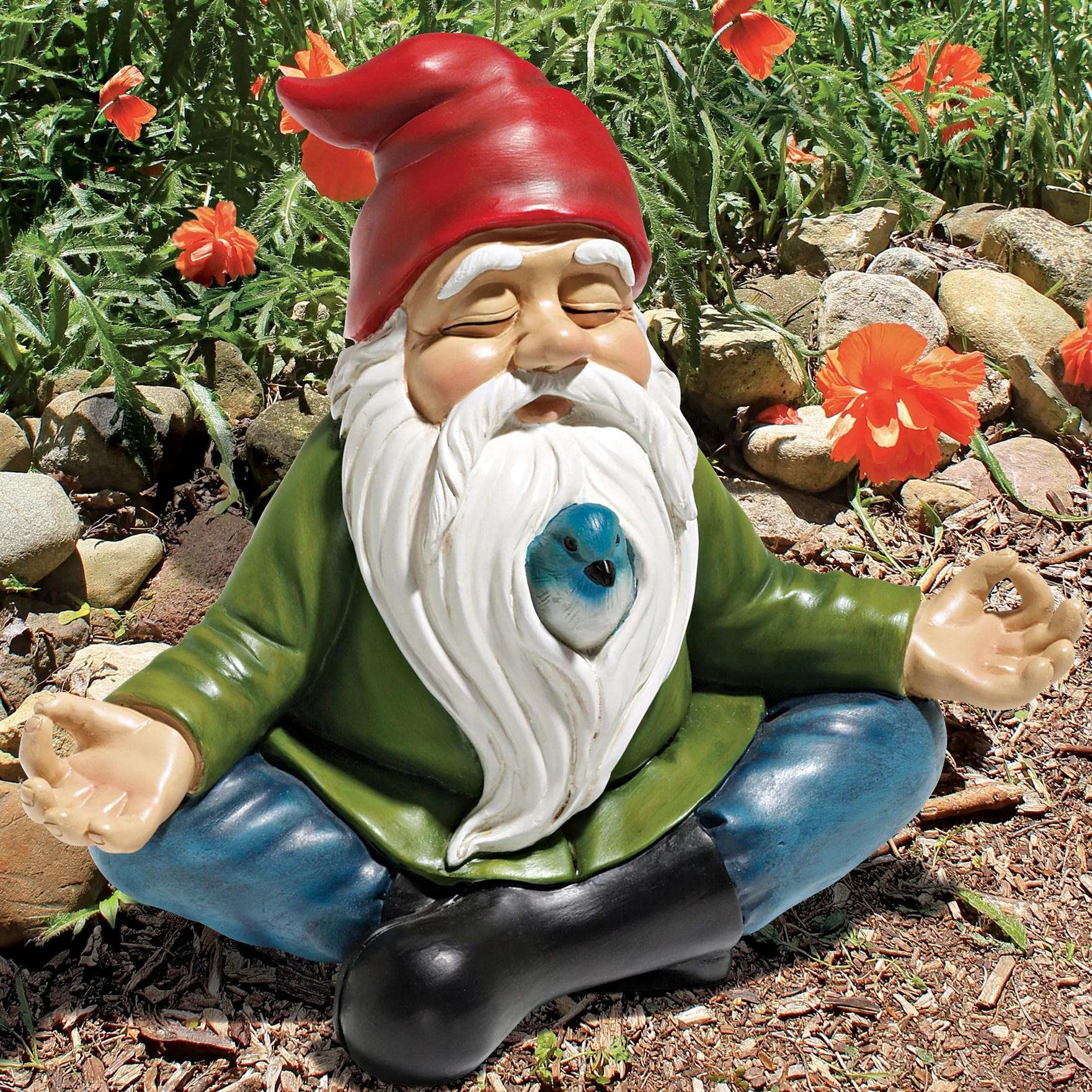 Design Toscano Zen Garden Gnome Statue Reviews Wayfair