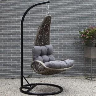 swing chair wayfair precious planet high outdoor hanging basket lazaro with cushion