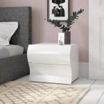 Zipcode Design Colbie 2 Drawer Bedside Table Reviews Wayfair Co Uk
