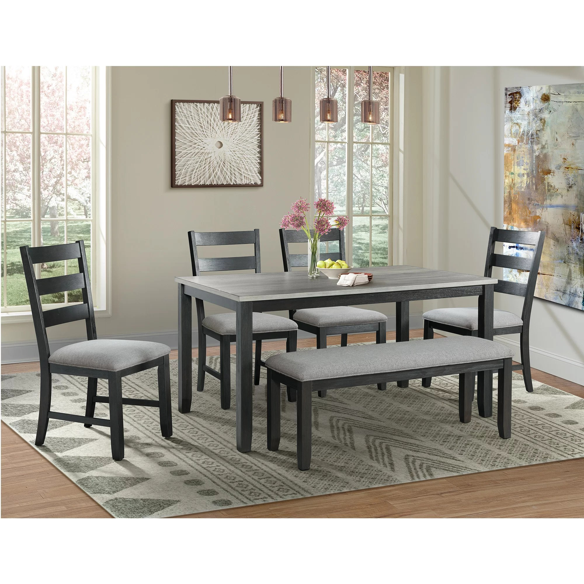 Black White Kitchen Dining Room Sets Tables You Ll Love In 2020 Wayfair