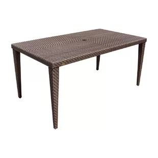 small outdoor patio table and chairs set of 2 wayfair ferrero rectangular woven dining