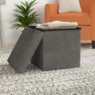 storage ottoman sound chair modern leather dining chairs toronto 30 x wayfair zosia