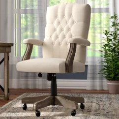 Desk Chair With Wheels Office For Tall Person Chairs Birch Lane State Line Executive