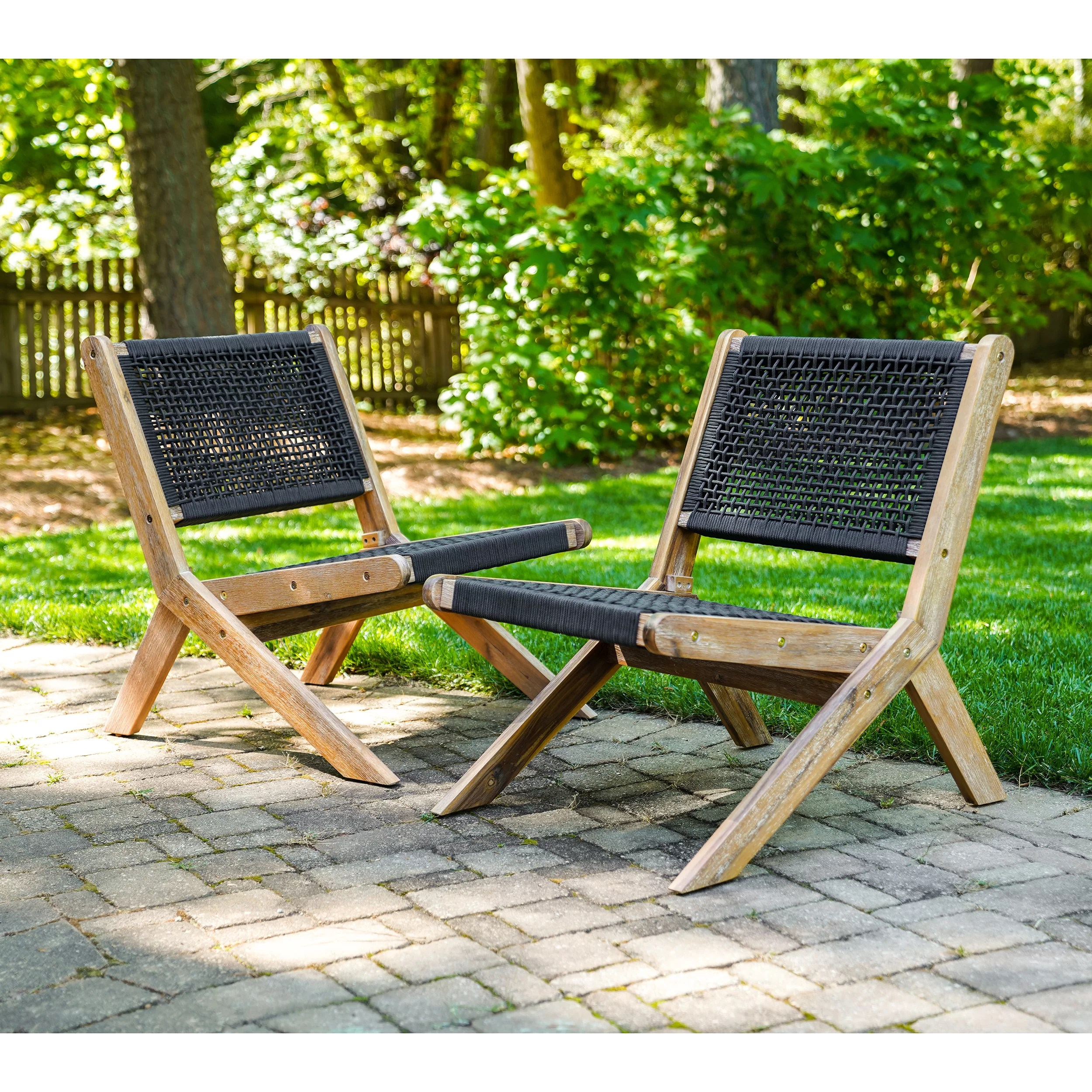 havell patio chairs 2 pack