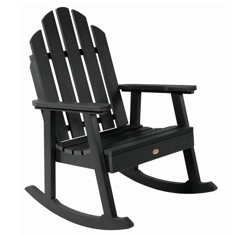 Rocking Adirondack Chair Plastic