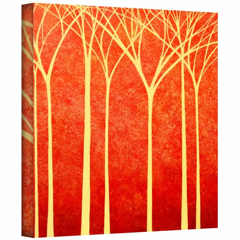 Contemplation by Herb Dickinson Print of Painting on Wrapped Canvas Size: 24 H x 24 W