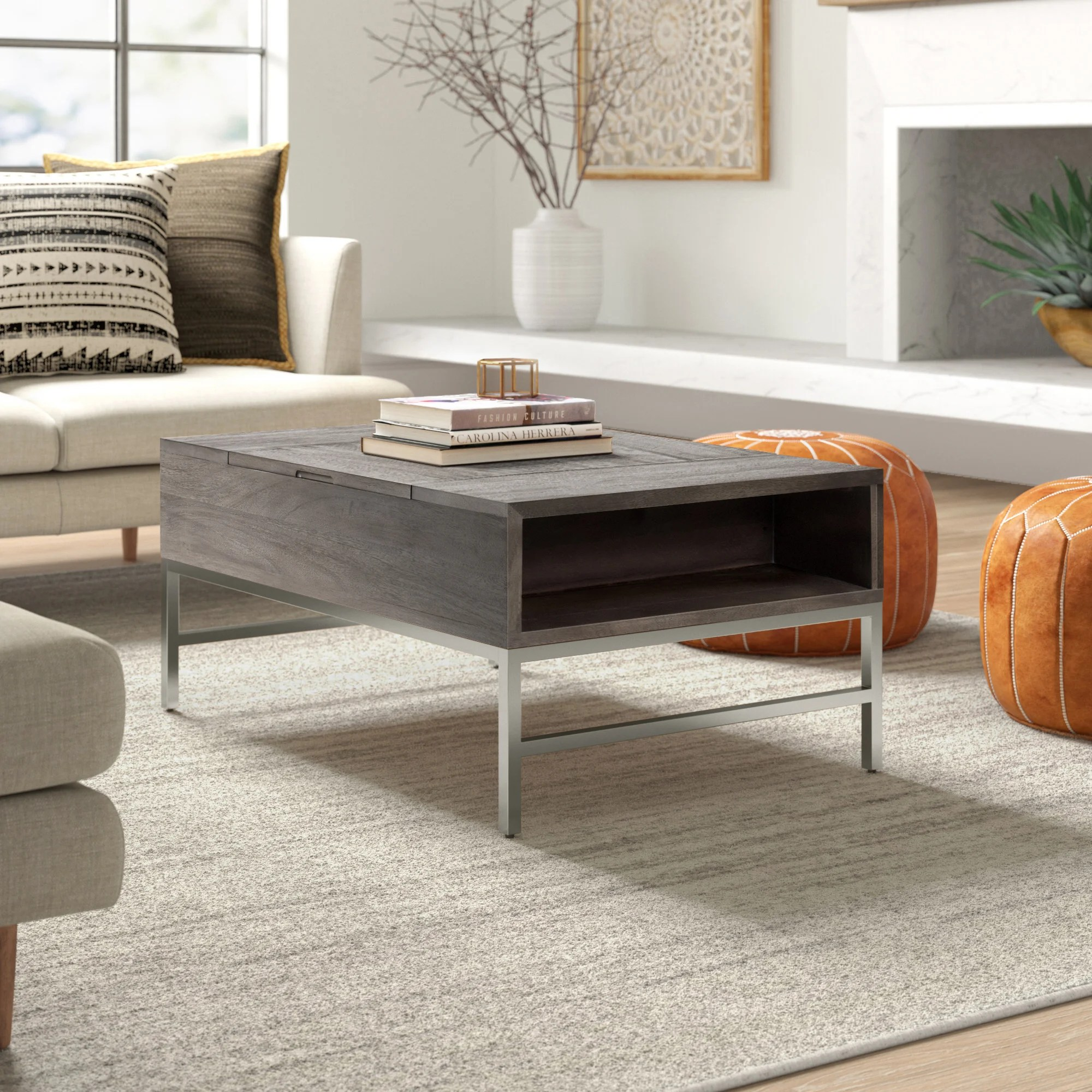 grey coffee tables joss main