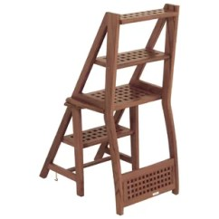 Wooden Step Stool Chair Wayfair Dining Room Chairs Solid Wood 3