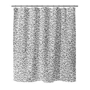 animal print shower curtains shower