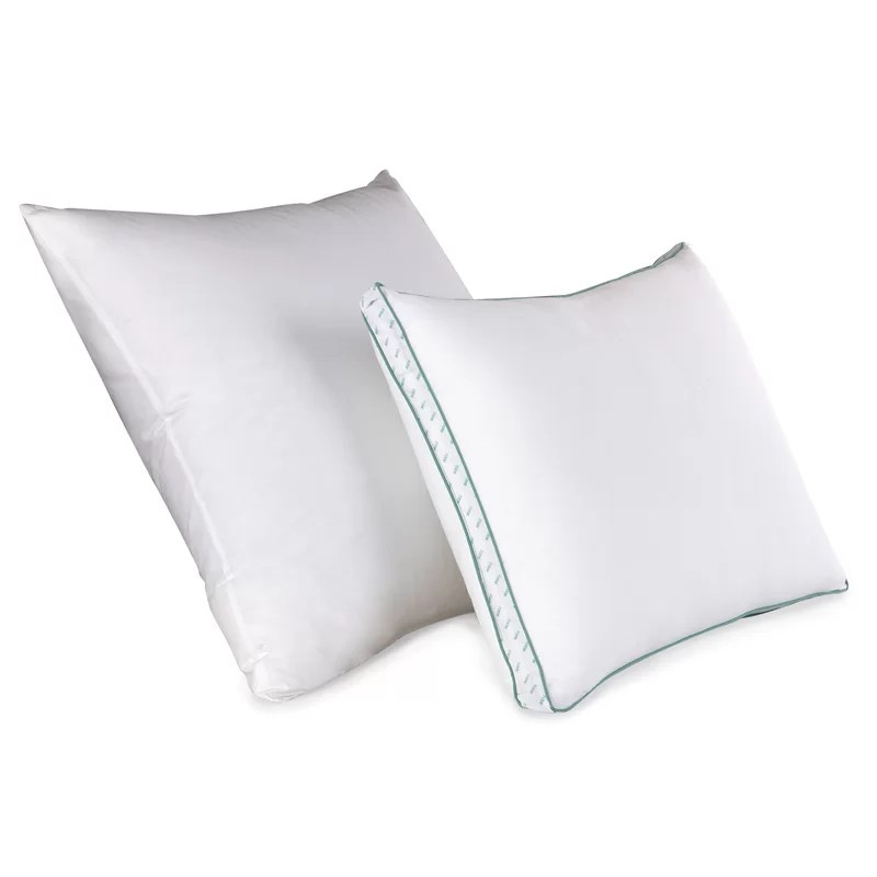 flat firm polyestyer polyfill king bed pillow