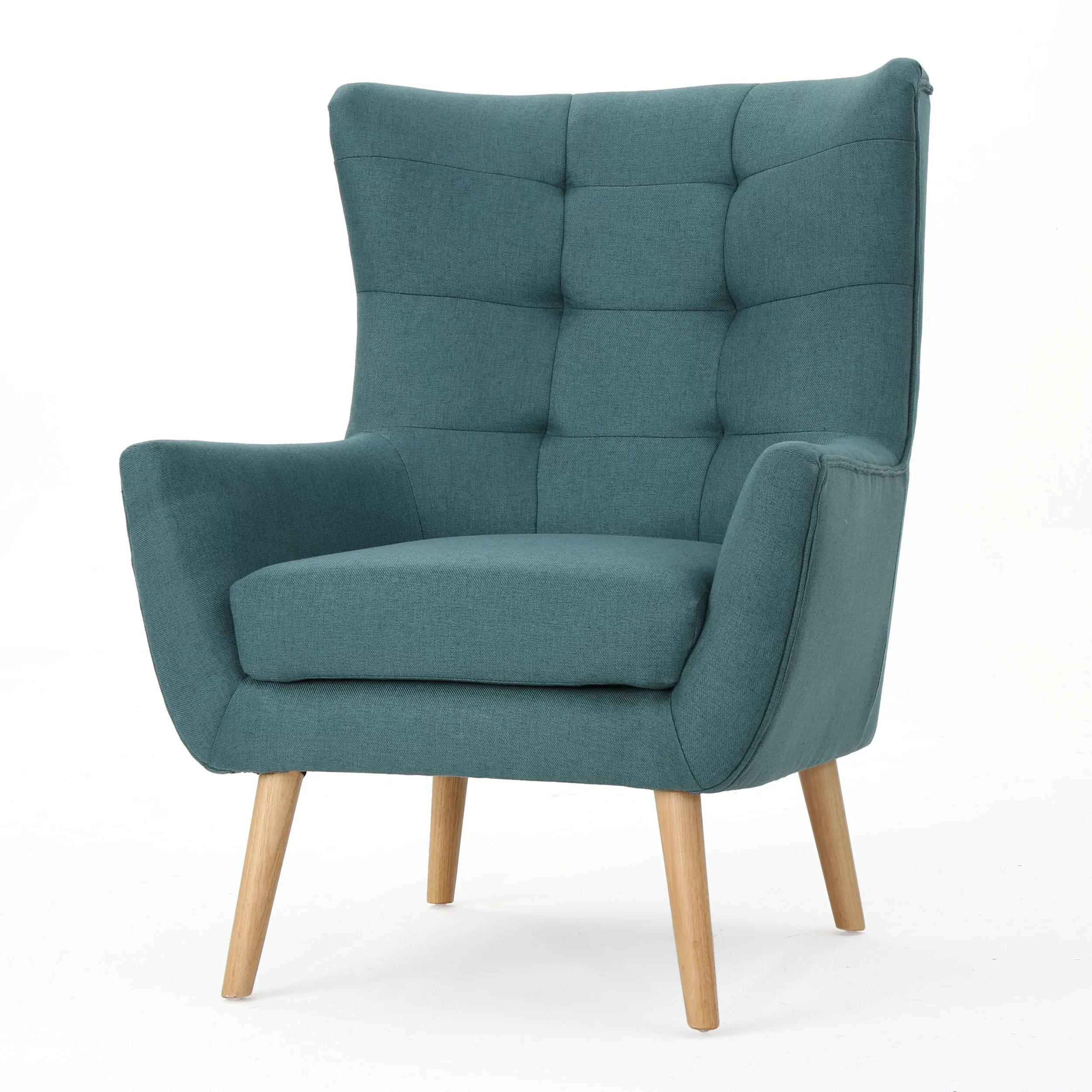 Teal Wingback Chair Paxton Wingback Chair