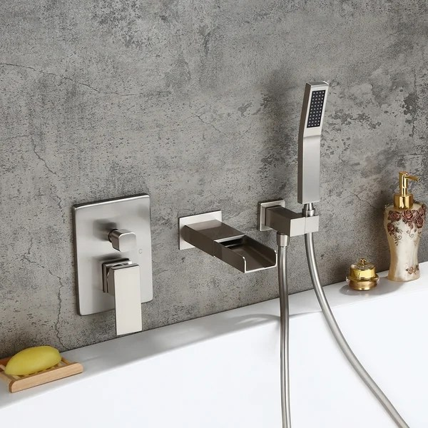 jacuzzi tub waterfall faucet