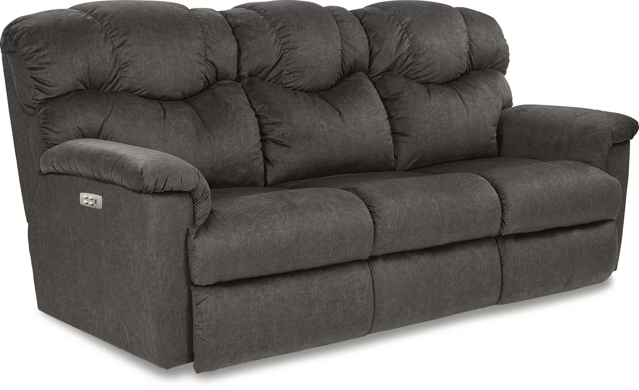 ashley electric reclining sofa parts upholstery cost recliner living room furniture leather