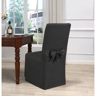slipcover for armless chair crate and barrel dining chairs canada wayfair save