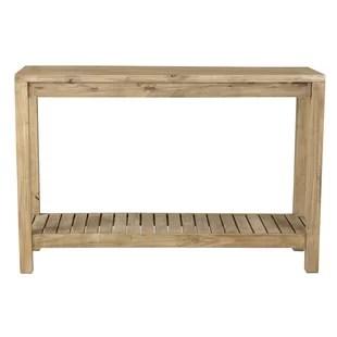 teak sofa table klaussner full sleeper console tables you ll love wayfair charlemont