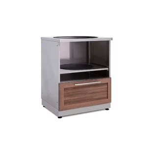 modular outdoor kitchen franco sinks wayfair kamado cabinet