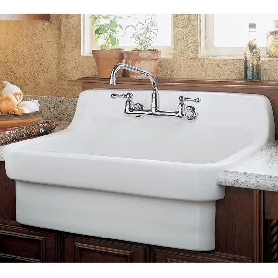 country kitchen sinks soup kitchens in chicago american standard 30 l x 22 w sink wayfair