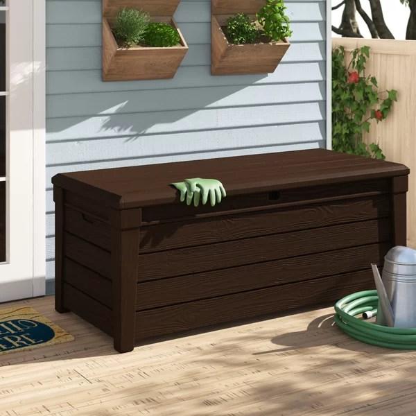 keter outdoor storage bench