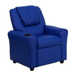 Kids Recliner Chair And Ottoman Zoomie Candy With Cup Holder Reviews Wayfair