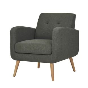 contemporary lounge chairs blue wing chair modern allmodern quickview