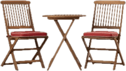 patio table and chair set cover via genie furniture you ll love wayfair small space