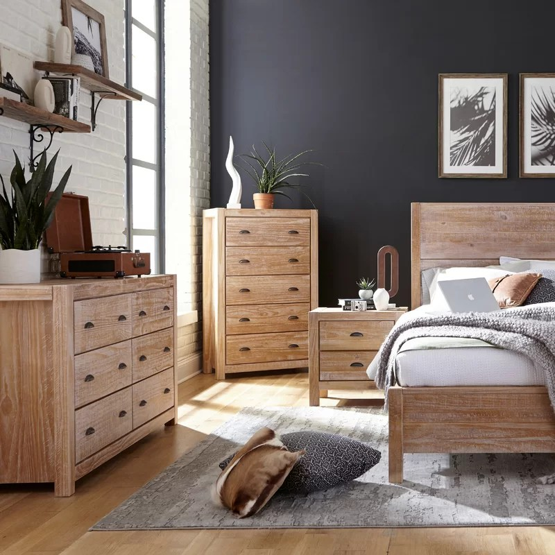 Montauk Standard 3 - Piece  Bedroom Set